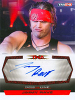 2008 TNA Cross the Line Trading Card Set