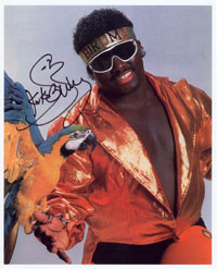the wrestling fanatic autograph koko b ware. Black Bedroom Furniture Sets. Home Design Ideas