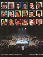NWA Fan Fest Program - August 08, 2009