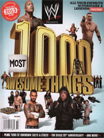 WWE 1000 Most Awesome Things  2013
